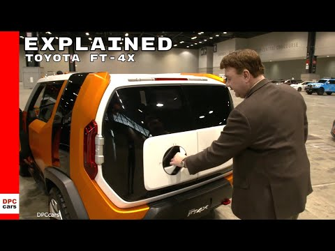 Toyota FT-4X Explained