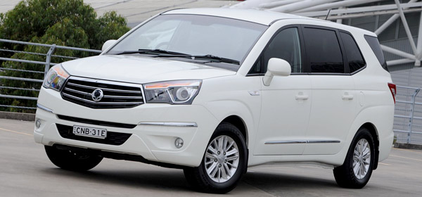 SsangYong Actyon Stavic