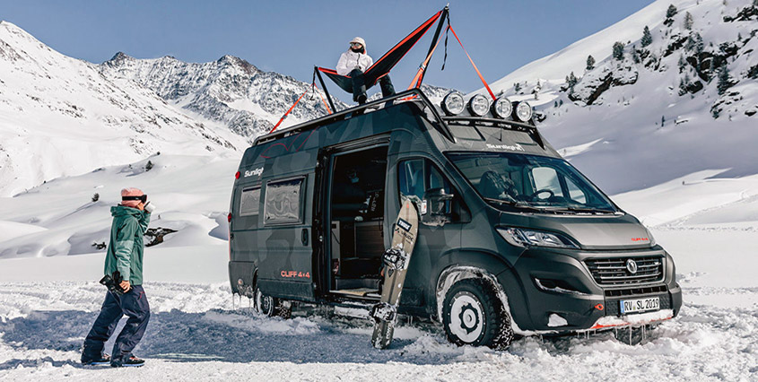 Автодом Sunlight Cliff 4x4 Adventure Van