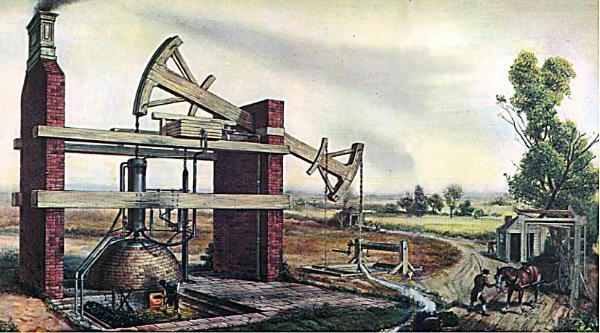 Когда был изобретен паровой двигатель: Паровая машина — Википедия ...