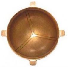 Вкладыш шкворня бронзовый с/о 4 фиксатора для УАЗ до 2008 г.